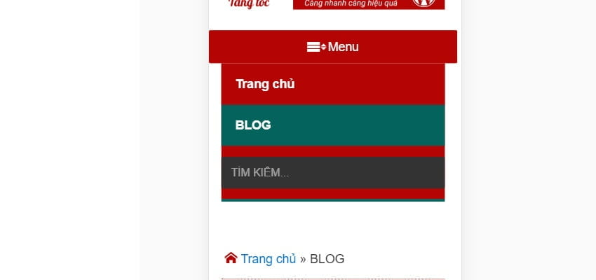 add menu search on