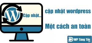 Cập nhật phần mềm an toàn cho website wordpress