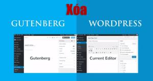 Hủy bỏ các Gutenberg toàn tập chuyển về classic editor