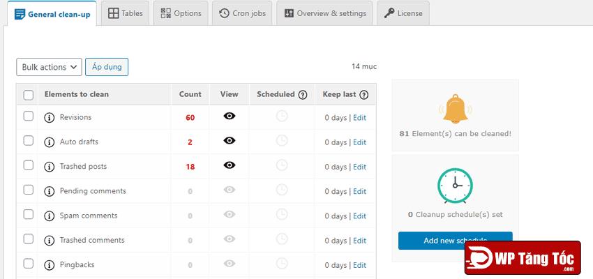 tab-đầu-tiên-của-plugin-bạn-có-thể-xóa-những-file-rác-của-WordPress