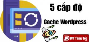 5 cấp độ cache website wordpress phổ biến thường dùng