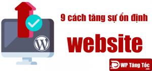 9 cách giúp website wordpress hoạt động ổn định hơn