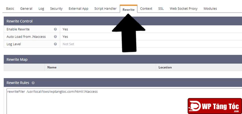 muốn chạy website wordpress bạn phải thiết lập quy tắc viết lại