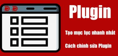 plugin tạo mục lục nhanh speed nhất wordpress