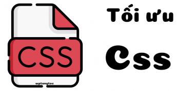 tối ưu css wordpress
