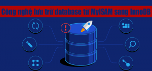 Công nghệ lưu trữ database từ MyISAM sang InnoDB