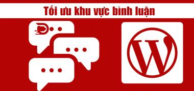 tăng tốc khu vực bình luận wordpress