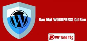 Bảo mật wordpress cơ bản