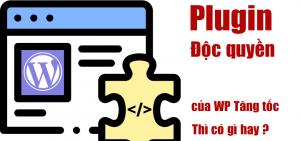 Plugin độc quyền của WP Tăng Tốc phát triển thì có gì hay?