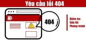 request yêu cầu lỗi từ website của bạn