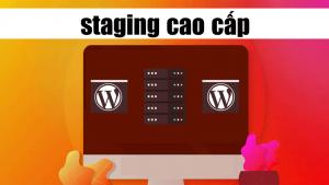 staging cao cấp tính năng mới của dịch vụ của WP Tăng Tốc