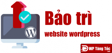 bảo trì website wordpress