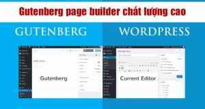 Gutenberg Pagebuilder chất lượng cao