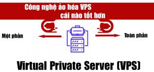 Công nghệ ảo hóa VPS