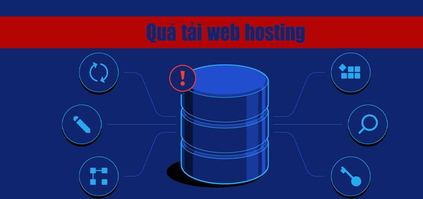 quá tải webhosting
